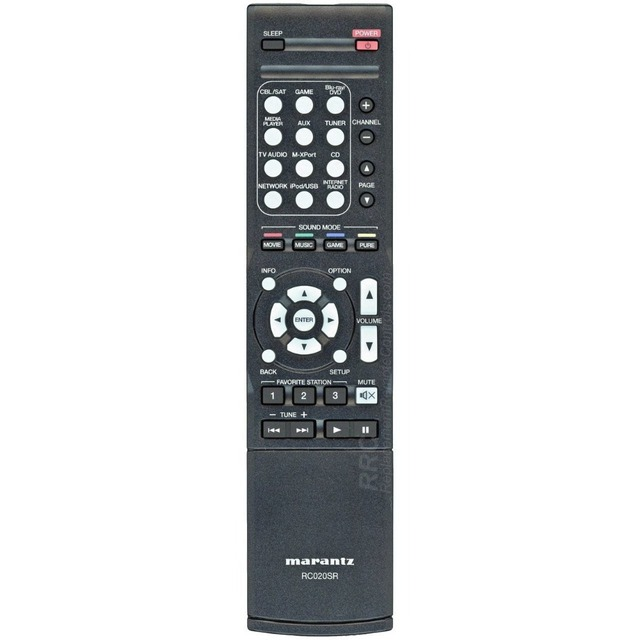 New Original Remote Control For Marantz Rc020sr Av