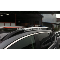 For Honda CRV 2012 2014 Silver Black Color Roof Rack Rails Luggage Roof Top Rack