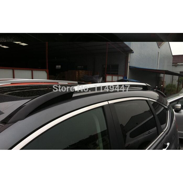 For Honda CRV 2012 2014 Exterior Car Styling Aluminum Alloy Silver + Black  Color Roof