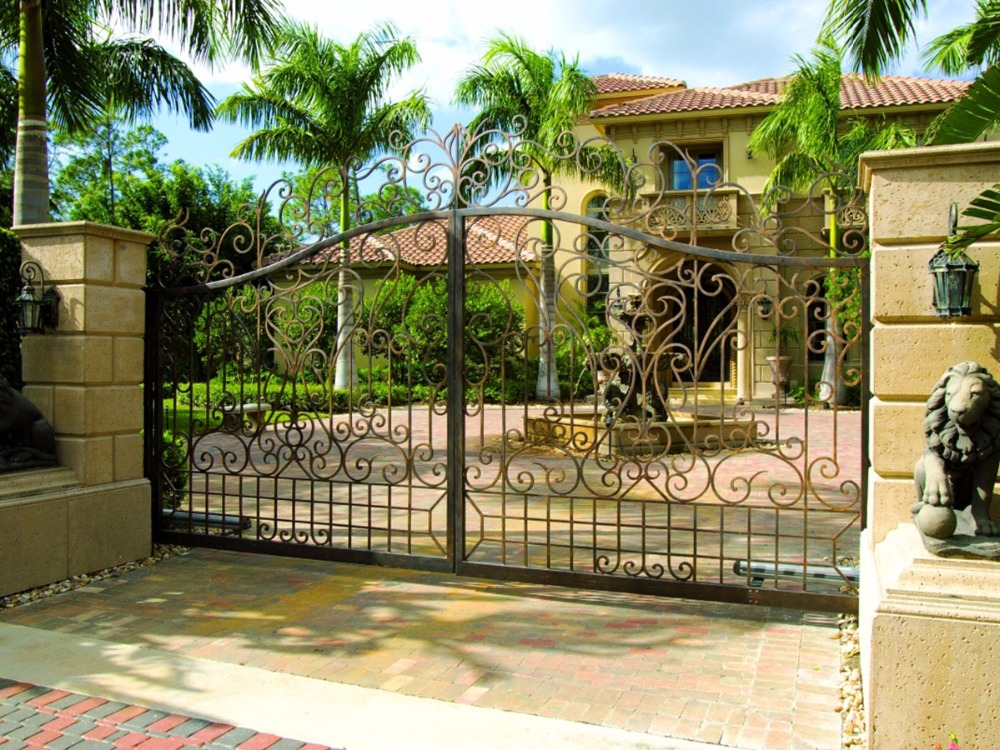 Metal Driveway Gates Automatic Gate Garden Gates For Sale