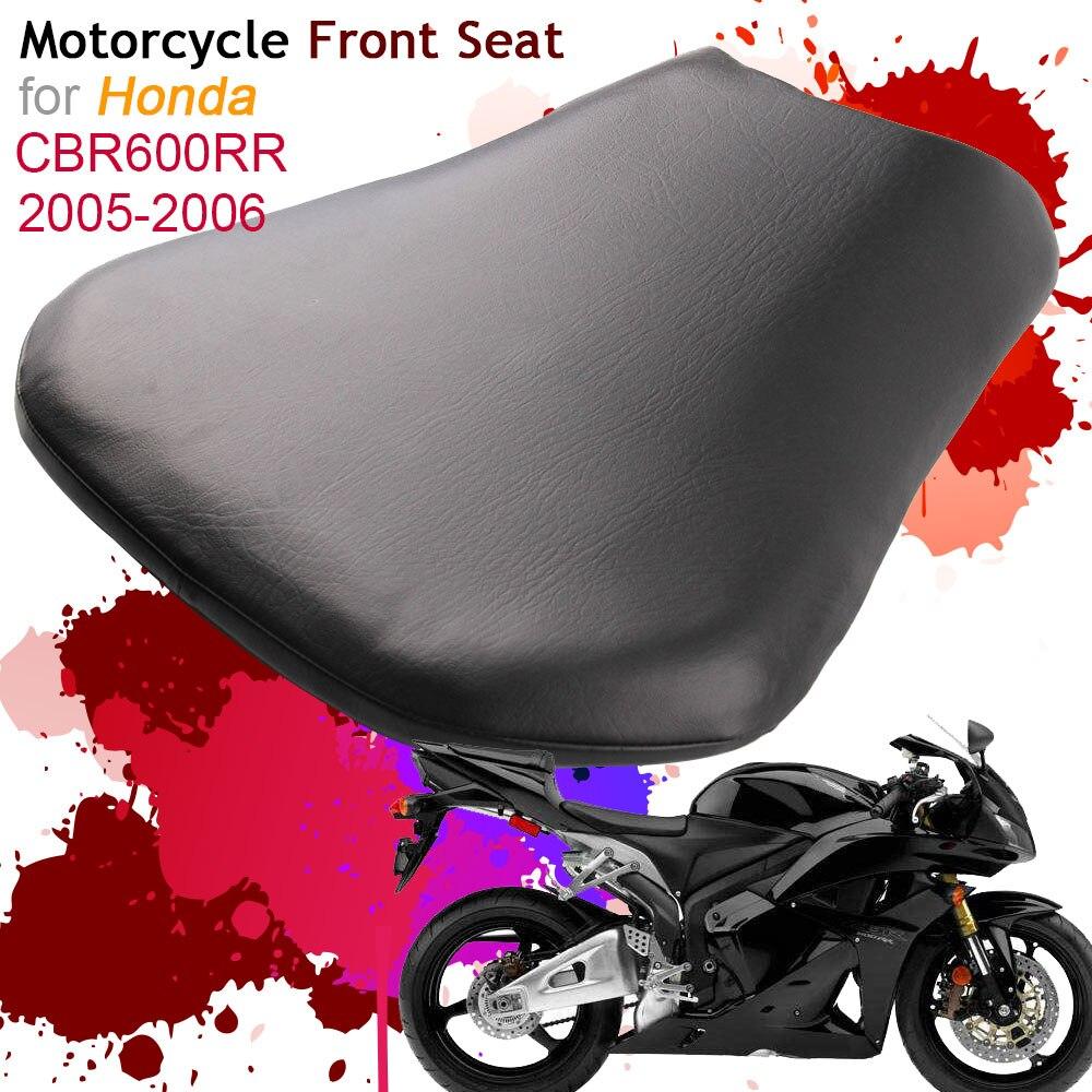 Pour Honda CBR600RR 2005 2006 housse de siège avant coussin en cuir oreiller CBR 600RR F5 05 06 moto pilote siège