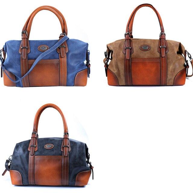 IMYOK Vintage Genuine Leather Luxury Women Bags Brand Designer Handbag High Quality Tote Bag Laides Shoulder Bags bolsa feminina 1