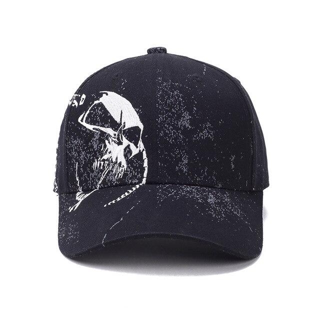 dd7ae1dc63004 Cool Snapback bone Cap demon Monster baseball cap Gorras Casquette Hip Gop  Gorra Visor Cappelli rocker