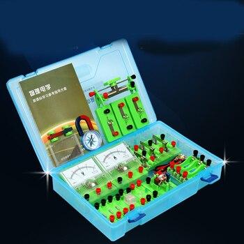 Laboratuvar Fiziksel Elektrik Devresi Deneysel Ekipman Öğrenci Fizik Deney Kutusu Deneysel Kutusu Tam Set