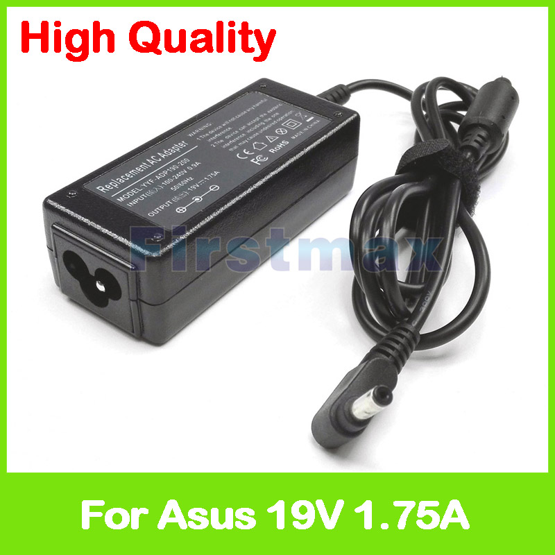 19V 1.75A 33W AC laptop power adapter <font><b>charger</b></font> for <font><b>Asus</b></font> Ultrabook VivoBook F200CA S200 S200E S200L X200 <font><b>X200CA</b></font> X200L X200LA image
