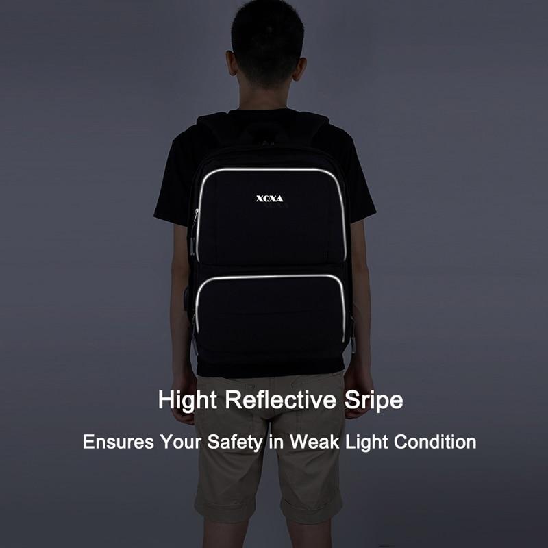 moda mochilas cinza 15.6 polegada Backpacks Colors Available : Black, grey