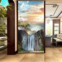 PSHINY 5D DIY Diamond embroidery sale Alpine waterfall landscape Full Square rhinestone diamond Painting cross stich