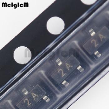 MCIGICM MMBT3906 100 sztuk oryginalny układ scalony części MMBT3906LT1G MMBT3906 2N3906 SOT23 tanie i dobre opinie Nowy Other