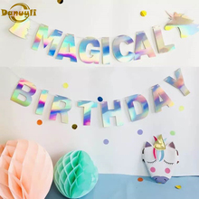 1 set hot sale mexican banner garland wedding flag banner decorations for themed party halloween birthday party 1 set of paper children happy birthday flag Banner party decorations festival party decoration