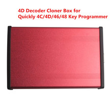 New 4D Decoder Clone Box Work With Quickly 4C 4D 46 48 Key Programmer Copy 4D Chips