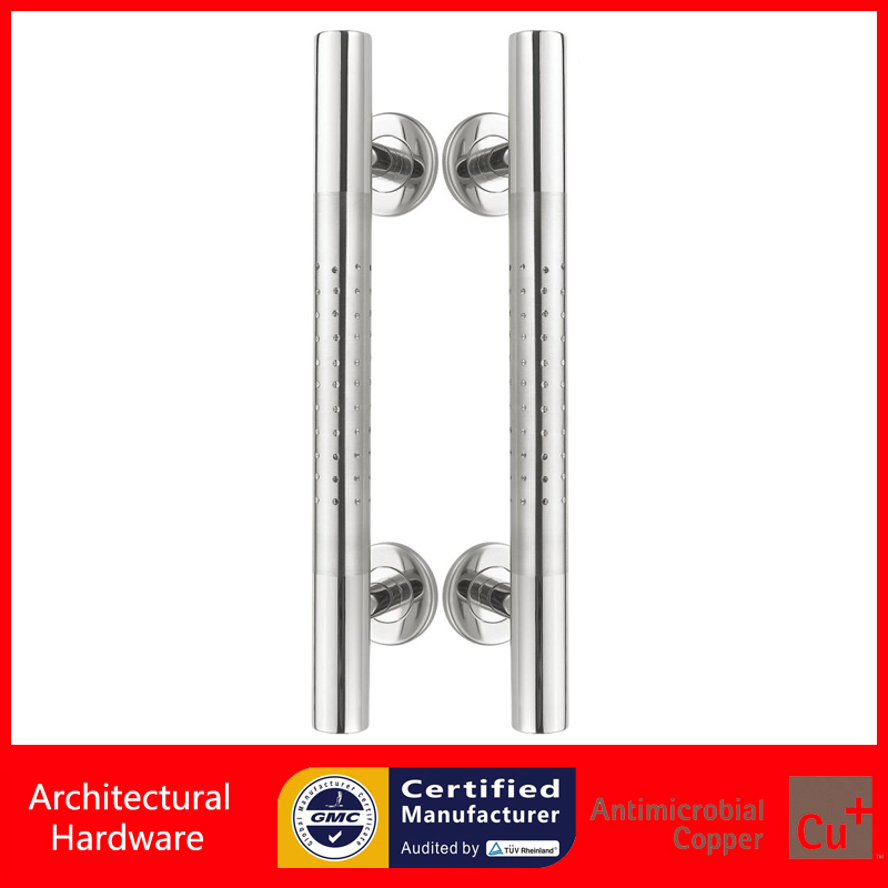 Entrance Door Handle Polish And Brushed 304 Stainless Steel Pull Handles For Entry Wooden Doors PA-381 modern entrance door handle 304 stainless steel pull handles pa 104 32 1000mm 1200mm for entry glass shop store big doors