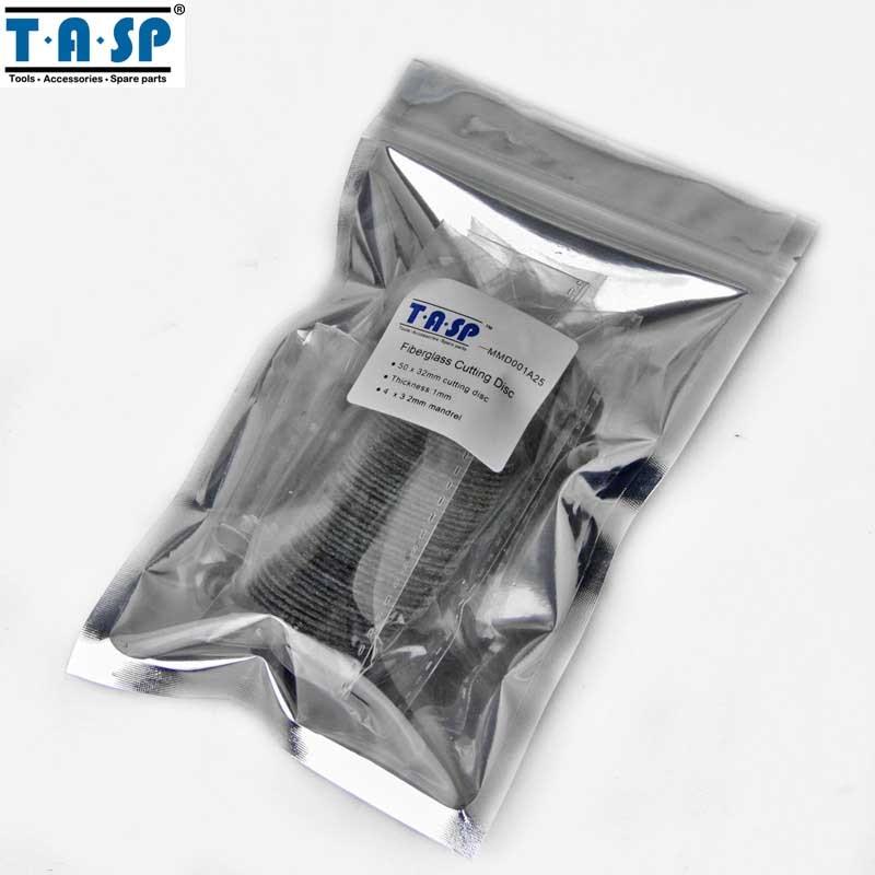 TASP 50 sztuk Wzmocniona włóknem szklanym tarcza tnąca Zestaw - Narzędzia ścierne - Zdjęcie 5