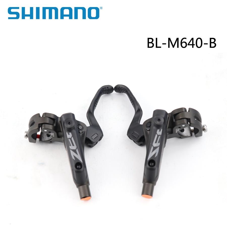 SHIMANO ZEE BL M640 levier de frein hydraulique levier de frein à disque vtt Original boîte-emballé gauche/droite pièces de vélo de montagne