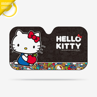 Hello Kitty Cartoon Cute Car Windshield Sunshade Windscreen Cover Solar Protection Auto Zonnescherm Parasole Parasol Coche A04