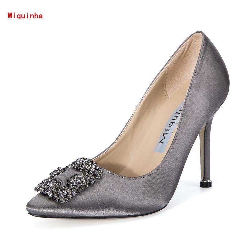silk bridal shoes