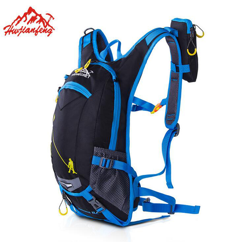NEW 18L Waterproof Camping Backpack +2L Water Bag Outdoor Sports Climbing Riding Cycling Travel Bag Sport Rucksacks Knapsack roswheel 18l sports bag ultralight waterproof hiking camping climbing cycling backpack travel bag sport rucksacks camelback