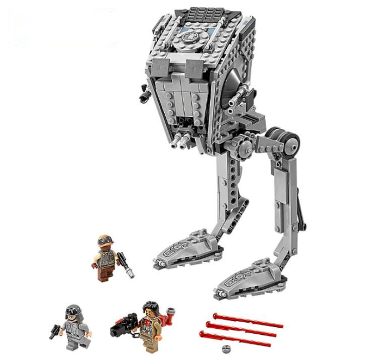 New Star War Imperial AT-ST Walker Building Blocks Model Compatible with Lepin Toys Bricks Best Gift For Children new lepin 16009 1151pcs queen anne s revenge pirates of the caribbean building blocks set compatible legoed with 4195 children