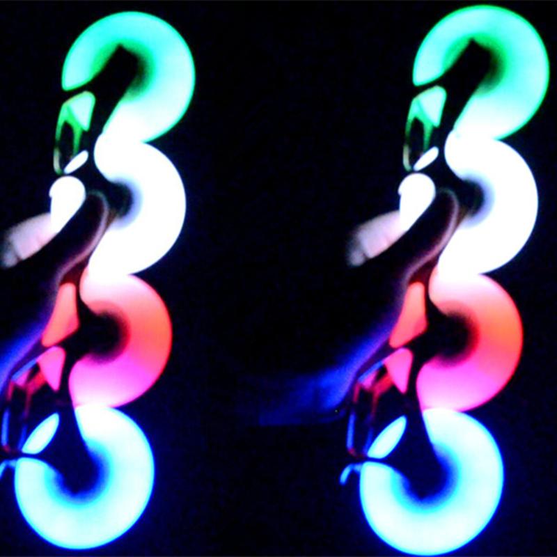 Prix pour Flash Roues Pour Patins à roulettes Blanc/Rouge/Vert/bleu Lumière Led Patins Rouleau Roue 80mm/76mm/72mm roues