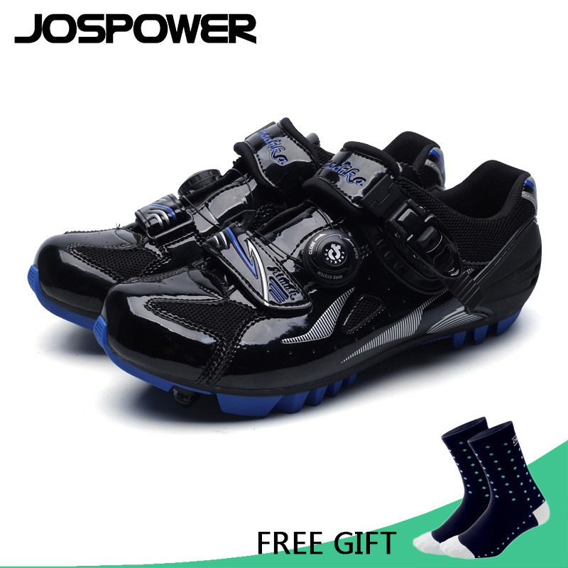 JOSPOWER Breathable Professional Self-Locking Cycling Shoes MTB Bicycle Shoes Non-Slip Bike Shoes Sapatos de ciclismo racmmer cycling gloves guantes ciclismo non slip breathable mens