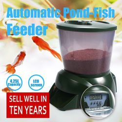 2017 Newest Innovative Design Automatic Pet Feeder Functional and Practical Auto Feeder Fish Tank Intelligent Pet Supplies