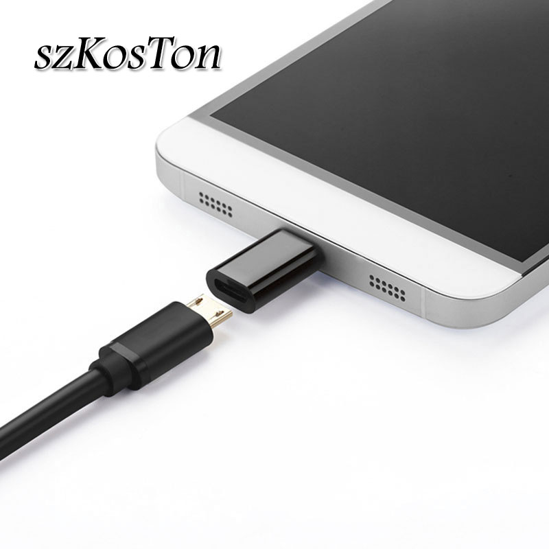 Micro USB Female To Type C Male Adapter OTG Cable 3.0 Charge Data Converter For Macbook Samsung S8 S9 Huawei P20 USB C Adapter