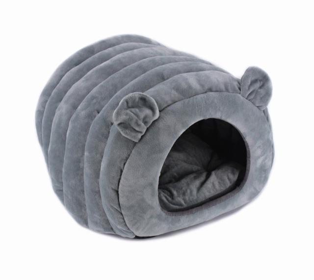 Soft Plush Cat's House