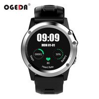 OGEDA GPS WIFI 3G Smart Watch Men Bluetooth Waterproof Smartwatch Camera Support SIM Heart Rate Health Tracker Male Smart Clock