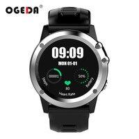Ogeda GPS WI FI 3G Смарт часы Для мужчин bluetooth Водонепроницаемый SmartWatch Камера Поддержка SIM ритма сердца здоровья трекер мужской Смарт часы