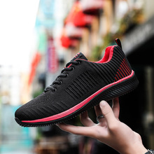 GILAUGH New Men's Casual Shoes Super Light Soft Comfortable Fashion Sneakers Casual Breathable Men Shoes  Lace up Shoe