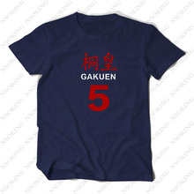 New  Kuroko no Basuke Aomine Daiki Cosplay T-shirt Fashion Kurokos Basket ball Anime men T Shirt cotton Short Sleeve Tops Tee