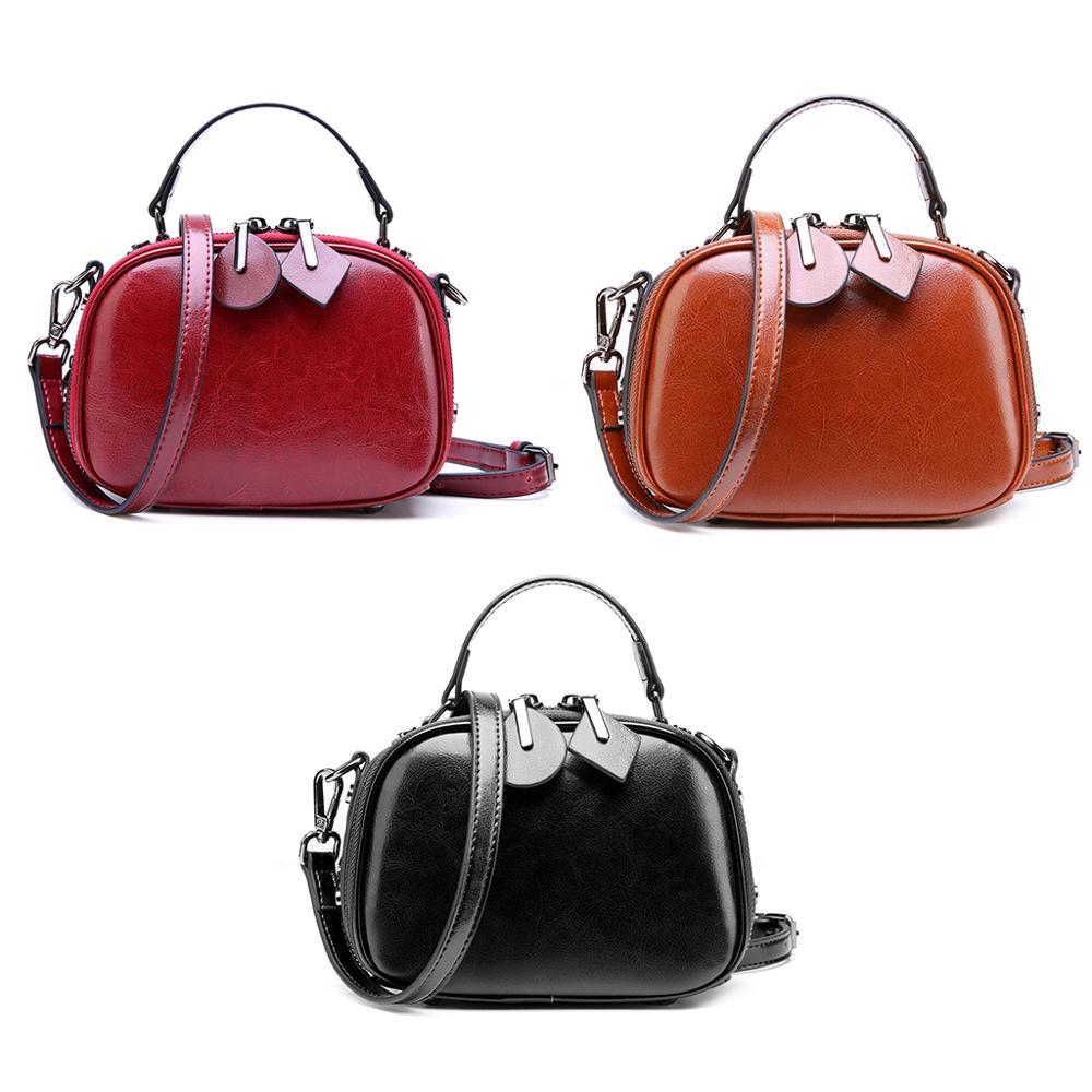 1 PC 3 couleurs femmes mode PU cuir élégant messager sac à main bandoulière sac à bandoulière
