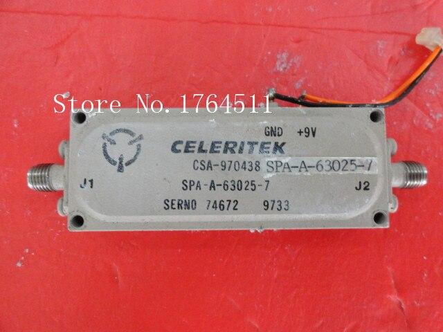 [BELLA] CELERITEK CSA-970438 15V SMA Supply Amplifier