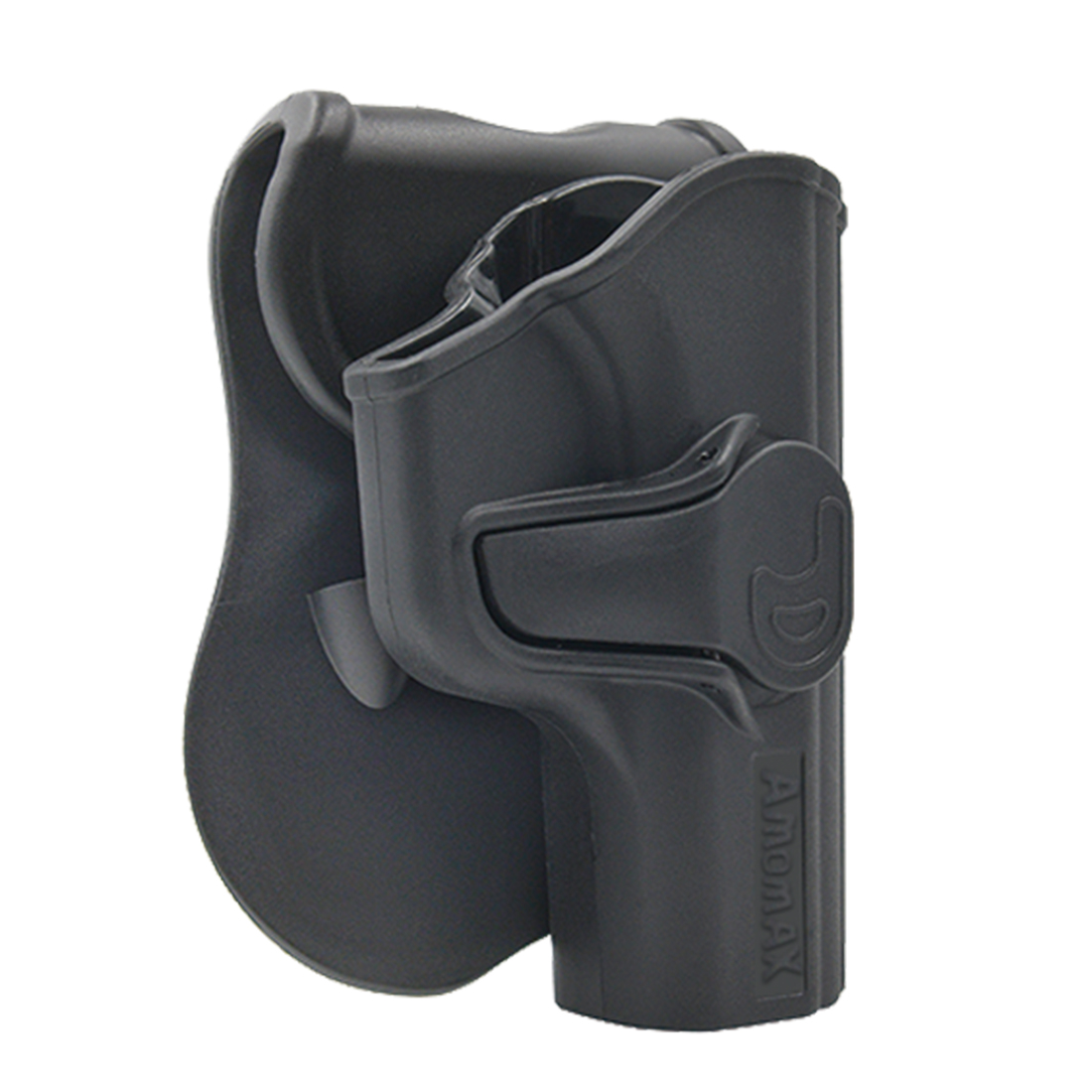Amomax Adjustable Tactical Holster For Makarov PM - Right-handed Black(Standard Only With Waist Plate, No Other Accessories)