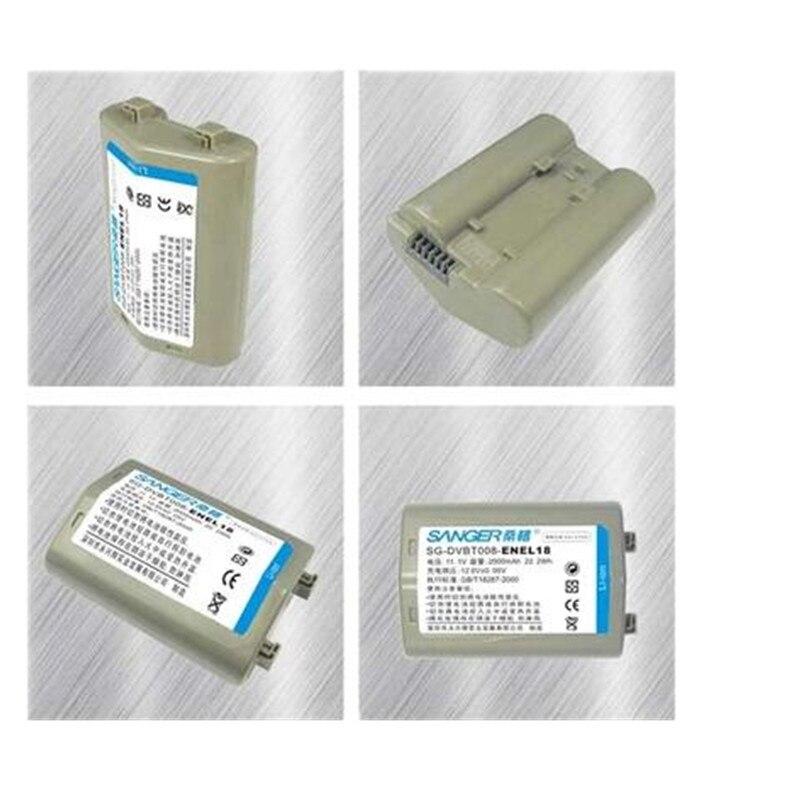 EN EL18 EN EL18a Battery Pack ENEL18 Digital DSLR Lithium Batteries EN EL18 EL18 For Nikon