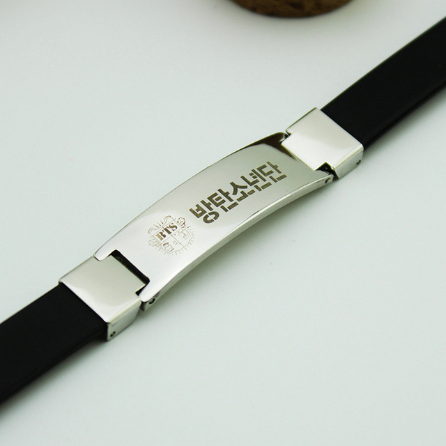 BTS Titanium Bracelet