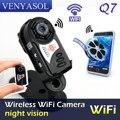 Маленький Wi-Fi Камеры Q7 Камера Обновления 720 P HD Mini DV Беспроводной IP Камера Espia Видео Шпион ИК Карманный Размер Пульта Дистанционного Управления по Телефону скрытые