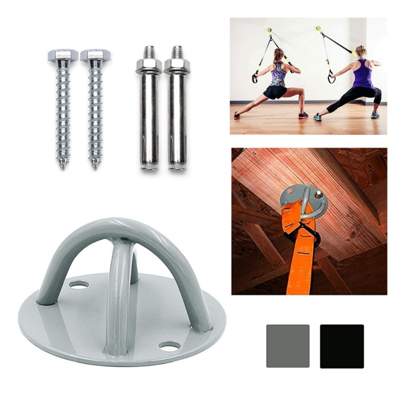 Accessories Fitness & Body Building Fitness Resistance Groups Hammock Anchorage Anchor For Yoga Swing Lifting Weights Boxing Ceiling Mount Anchor