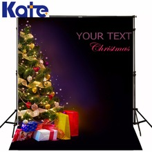 christmas photography background The Christmas tree gift box of the dream 5x7ft(1.5×2.2m) pano de fundo ZJ