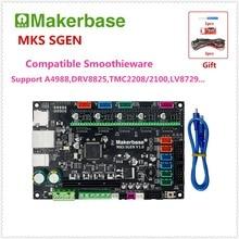 3D принтер плата управления МКС сгэн v1.0 32-бит ЦП ARM материнская плата smoothieboard Совместимость Smoothieware подобным MKS GEN L