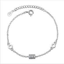 TJP Luxury Austrian Rhinestones Gold Bracelets For Women Jewelry Top Quality 925 Sterling Silver Lady Accessories Hot