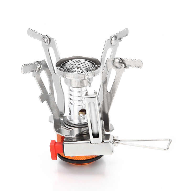 Luar Portabel Mini Ultralight Camping Gas Kompor Gas Burner AT6312/5