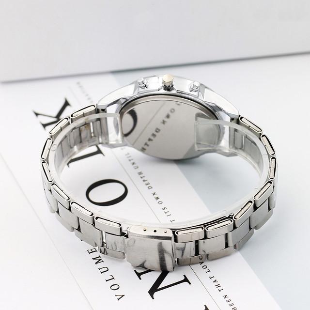 saatleri Fashion 2018 Stainless Steel Sport Quartz Hour Wrist Analog Watch Wristwatch Clock Gift Men Outdoor  Retro Design  #15
