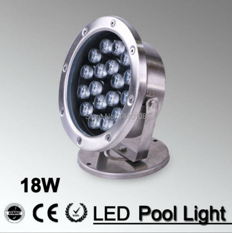Lights & Lighting Led Underwater Lights Lower Price with 2pcs/lot Rgb Led Pool Light Ip68 Dc12v 18w Stainless Steel Led Underwater Light Swimming Pool Led Marine Yachting For Fountain