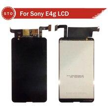 Para sony xperia e4g e2003 e2006 e2115 pantalla lcd y pantalla táctil del digitizador assembly + herramientas envío libre