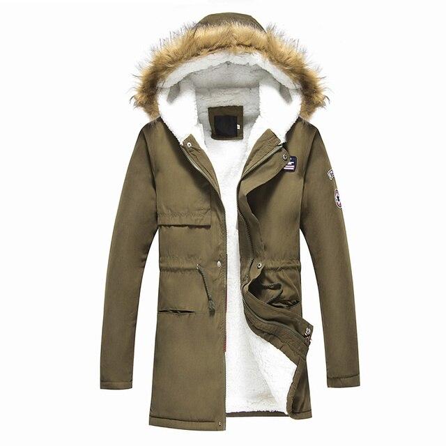 74e560f01e0b Мужские пальто 2018 мужские теплые корейские стильные стеганые куртки  мужские с капюшоном повседневные зимние и осенние