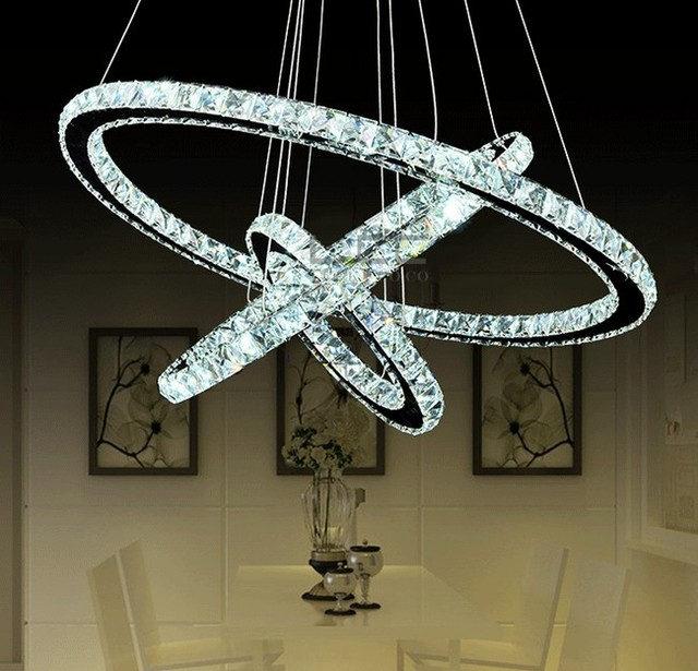 Aliexpress.com : Buy Diamond Ring Crystal Chandelier ...