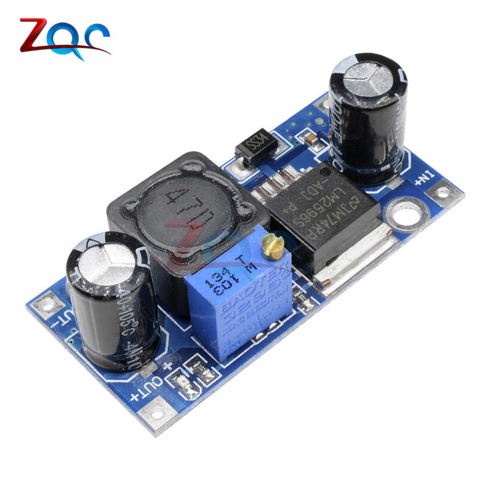 LM2596 DC-DC Buck Converter Step Down Module Voeding Module Output 1.23 V-30 V 3A Max