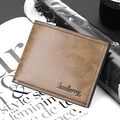 Men wallets famous brand PU leather wallet New Design wallets with coin pocket purse card holder for men carteira DB03#003