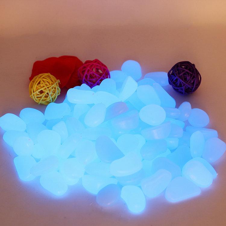 emisores de luz artificial decorativo grava por su fantstico jardn o patio glow in the dark