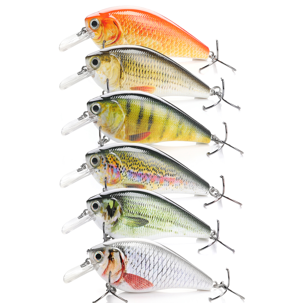 Image 5 - 7cm 15g Top Quality Swimbait Crankbait Fishing Lure Hard Bait with 3d Eyes Japan Floating Popper Fishing Wobblers Croatian Egg-in Fishing Lures from Sports & Entertainment